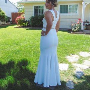 White Prom Dress!!